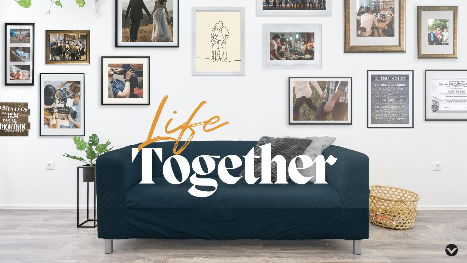 A series for Victory Taft - life together series key visual